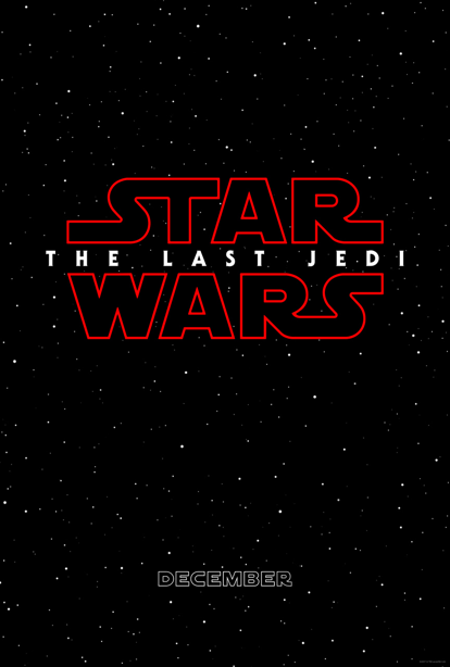 Disney has just unveiled the logo and title for 'Star Wars: The Last Jedi'