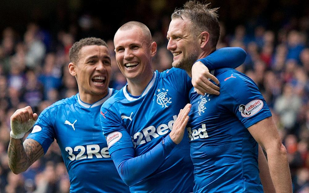 Kenny Miller (centre) and Clint Hill (right) could yet be offered new contracts - Credit: PA