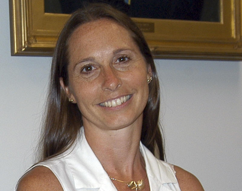 FILE - This July 2010 file photo provided by the Newtown Bee shows Dawn Lafferty Hochsprung, principal at Sandy Hook Elementary School in Newtown, Conn., killed in the shooting rampage there on Dec. 14, 2012.  Hochsprung and five other teachers and administrators will be posthumously awarded the 2012 Presidential Citizens Medal at a White House ceremony on Feb. 15, 2013. (AP Photo/Eliza Hallabeck, File)   MANDATORY CREDIT: NEWTOWN BEE, ELIZA HALLABECK