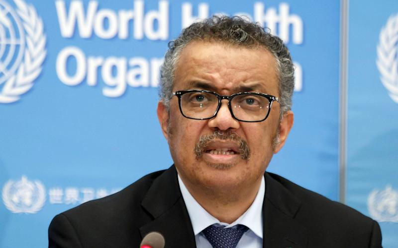 Dr Tedros Adhanom Ghebreyesus, Director General of the World Health Organization -  Salvatore Di Nolfi
