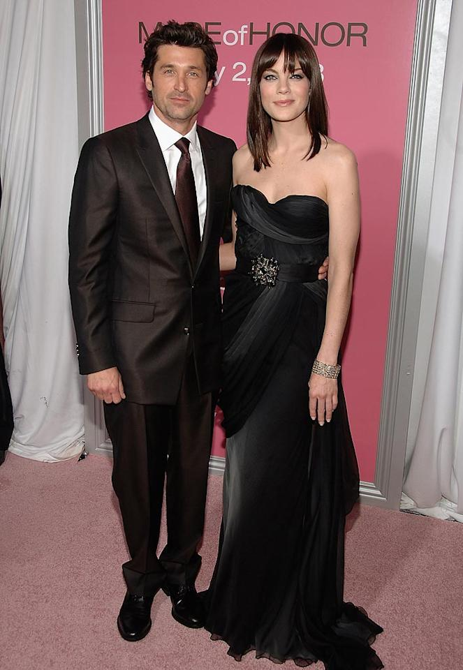 """<a href=""""http://movies.yahoo.com/movie/contributor/1800043749"""">Patrick Dempsey</a> and <a href=""""http://movies.yahoo.com/movie/contributor/1804504037"""">Michelle Monaghan</a> at the New York City premiere of <a href=""""http://movies.yahoo.com/movie/1809878258/info"""">Made of Honor</a> - 04/28/2008"""