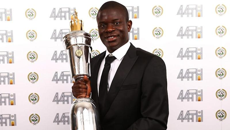N'Golo Kanté Receives Incredible PFA Player of the Year Fifa Ultimate Team Card