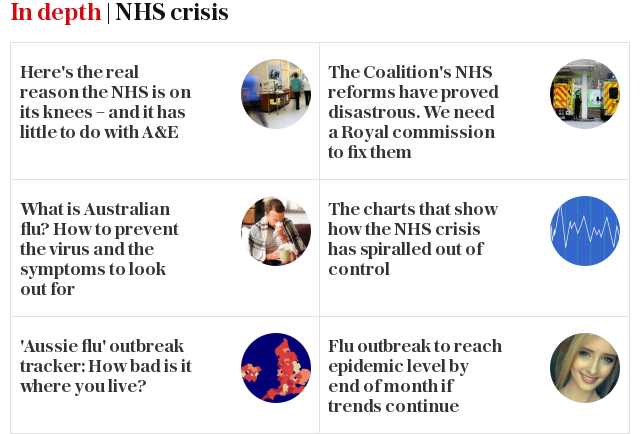 In depth | NHS crisis