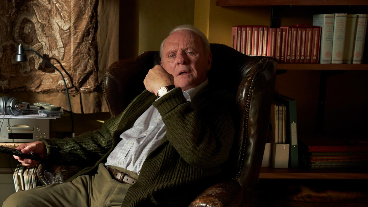 Sir Anthony Hopkins plays a man struggling with the onset of dementia in 'The Father'. (Sean Gleason/Lionsgate)
