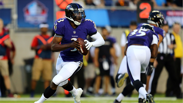 <p>A year ago, Robert Griffin III was unemployed. Fast forward a year, and the former Heisman Trophy winner is trying to convince the Ravens to keep him on their roster.</p>