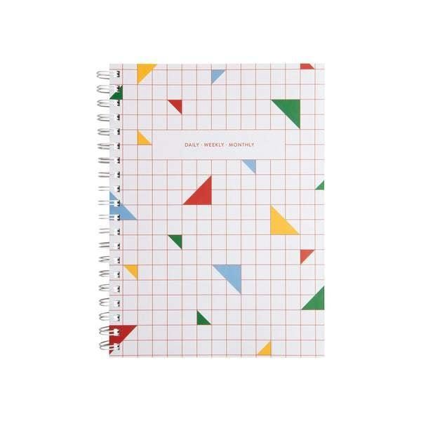 """<h3><a href=""""https://shop.design-milk.com/products/daily-weekly-monthly-planner-multi"""" rel=""""nofollow noopener"""" target=""""_blank"""" data-ylk=""""slk:Poketo Daily Weekly Monthly Planner"""" class=""""link rapid-noclick-resp"""">Poketo Daily Weekly Monthly Planner</a></h3> <br>This open-dated planner features space for you to timestamp events and tasks with extra room for notes and sketches. It includes daily, weekly, monthly, and yearly sections along with two pockets in the back to keep loose-leaf papers and documents in one place.<br><br><strong>Poketo</strong> Daily Weekly Monthly Planner, $, available at <a href=""""https://go.skimresources.com/?id=30283X879131&url=https%3A%2F%2Fshop.design-milk.com%2Fproducts%2Fdaily-weekly-monthly-planner-multi"""" rel=""""nofollow noopener"""" target=""""_blank"""" data-ylk=""""slk:design milk"""" class=""""link rapid-noclick-resp"""">design milk</a><br>"""