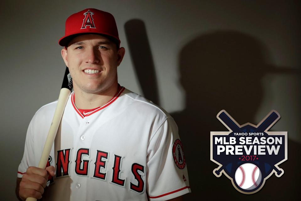 Breaking: Mike Trout is good at baseball. (AP)