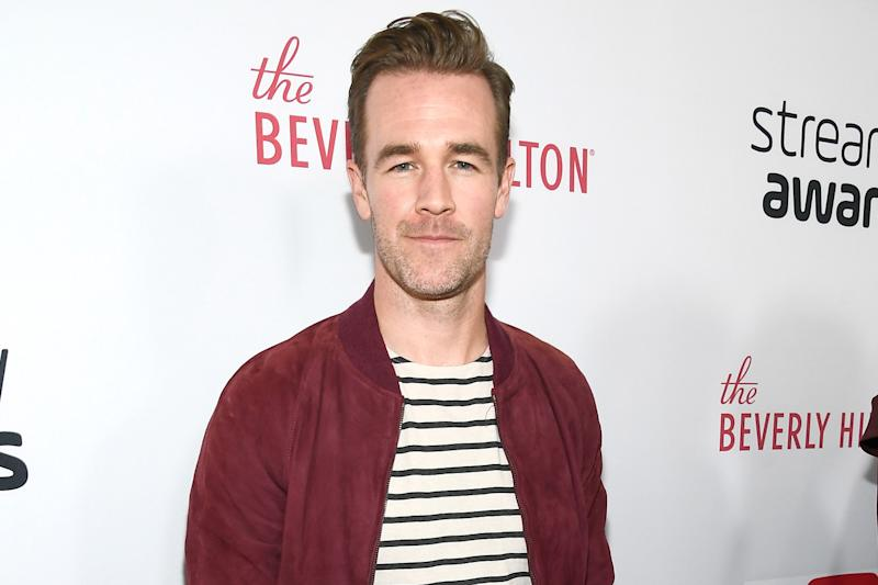 Speaking out: James Van Der Beek claims he was sexually harassed: Frazer Harrison/Getty Images for dick clark productions
