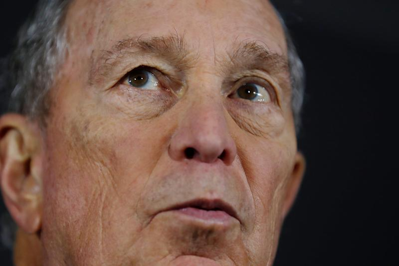 Democratic Presidential candidate and former New York City Mayor Michael Bloomberg speaks during a rally Friday, Jan. 10, 2020, in Atlanta. (AP Photo/John Bazemore)
