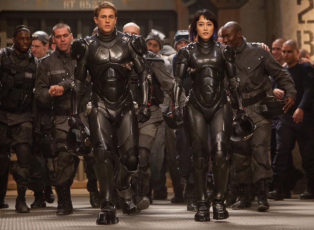 "Charlie Hunnam and Rinko Kikuchi in Warner Bros. Pictures' ""Pacific Rim"" - 2013"