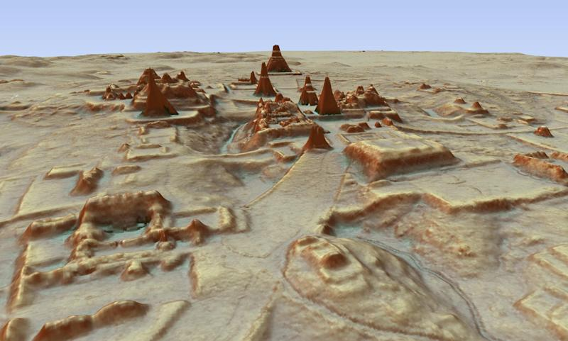 The 3D aerial laser mapping technique also helped uncover Mayan villages in a jungle in Guatemala: AP