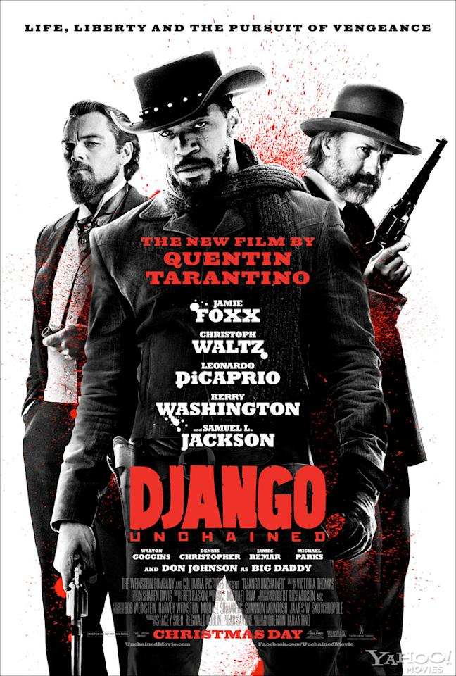 "Jamie Foxx, Leonardo DiCaprio and Christoph Waltz star in The Weinstein Company's ""Django Unchained"" - 2012"