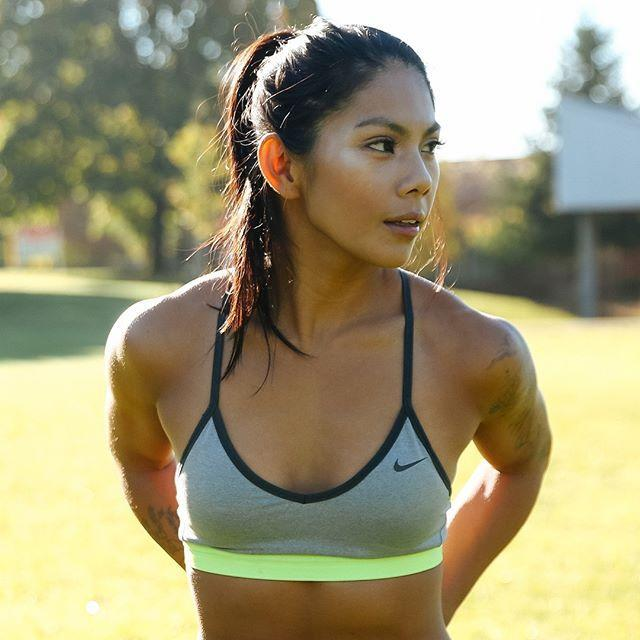 """<p>Only pull back half of the hair on your head to minimize the amount of dents you'll have after a workout. Plus, it makes for a veeery cute look that you can take from gym to dinner.</p><p><a href=""""https://www.instagram.com/p/BslJx0_FrEC/?utm_source=ig_embed&utm_campaign=loading"""" rel=""""nofollow noopener"""" target=""""_blank"""" data-ylk=""""slk:See the original post on Instagram"""" class=""""link rapid-noclick-resp"""">See the original post on Instagram</a></p>"""