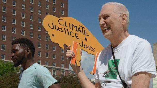 PHOTO: Martin Gugino attends a demonstration. (Courtesy Bill Jacobson)