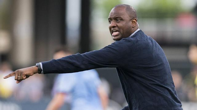 Patrick Vieira was asked about Arsenal and Arsene Wenger but the New York City head coach was only keen to dissect Sunday's loss in MLS.