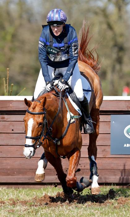 Mia Tindall steals the show at mom Zara Phillips' horse trials