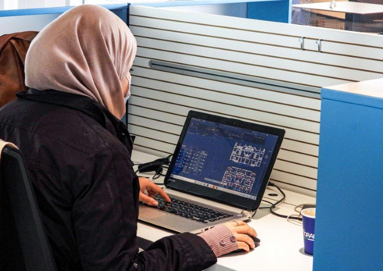 In troubled Libya's capital Tripoli, where electricity, internet and water cuts can last several hours, co-working spaces are a popular solution for some