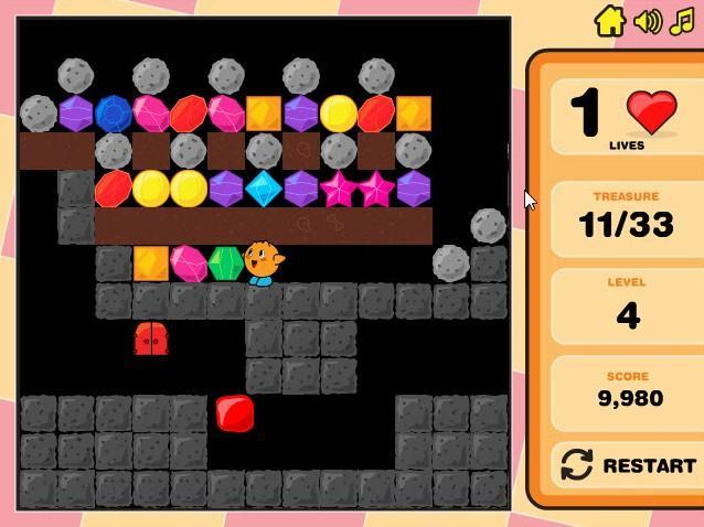 treasure caves 2 game of the day