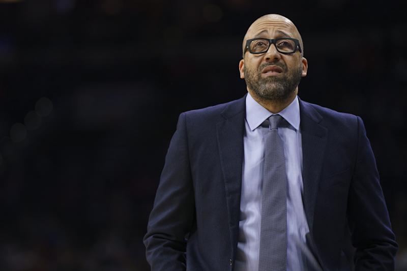 David Fizdale calls Knicks' effort in latest loss 'sickening'
