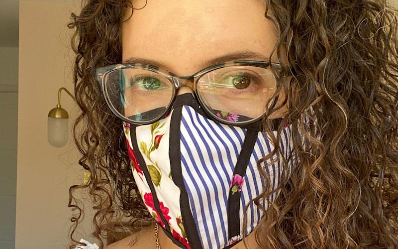 Placing your glasses on top of your mask will also help to seal the gap shut - EMILY NATASHA ZINKO