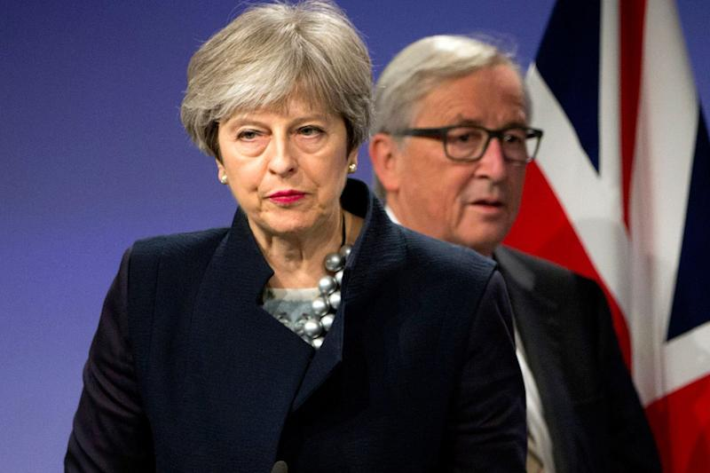Theresa May has been told to make her mind up over Brexit: AP