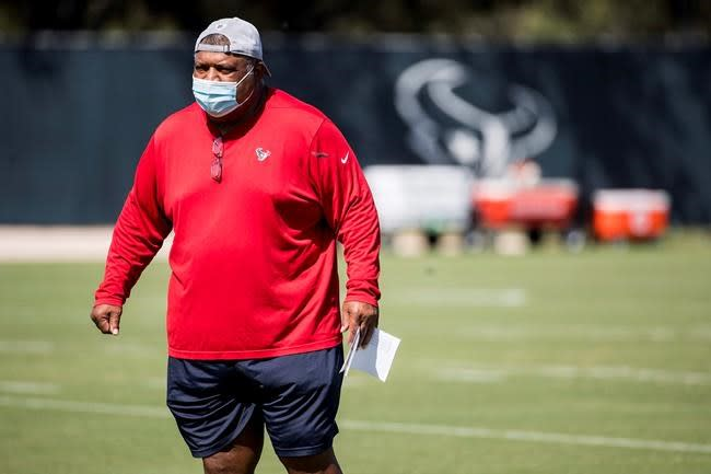 Texans look for 1st win of season after O'Brien's firing