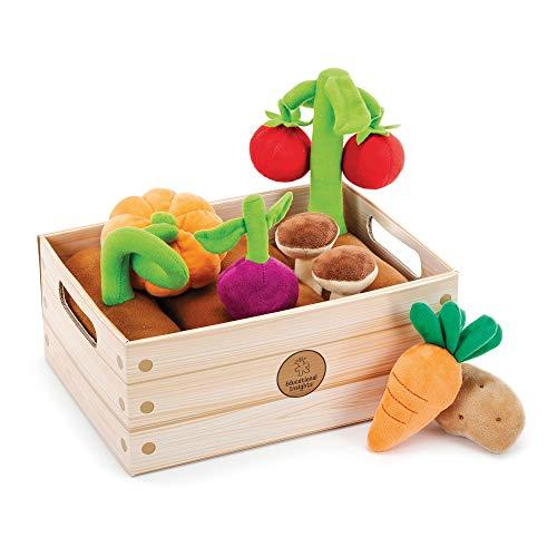 Educational Insights Vegetable Garden 13-Piece Plush Set, Pretend Food, Early-Learning Skills, Ages 2+ (Amazon / Amazon)