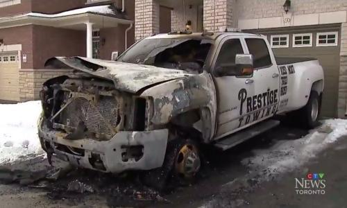Tow truck turf wars: Toronto sees rise in violence liked to organised crime