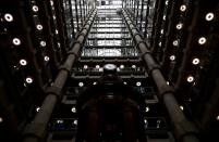 FILE PHOTO: Interior of the Lloyd's of London building is seen in the City of London financial district