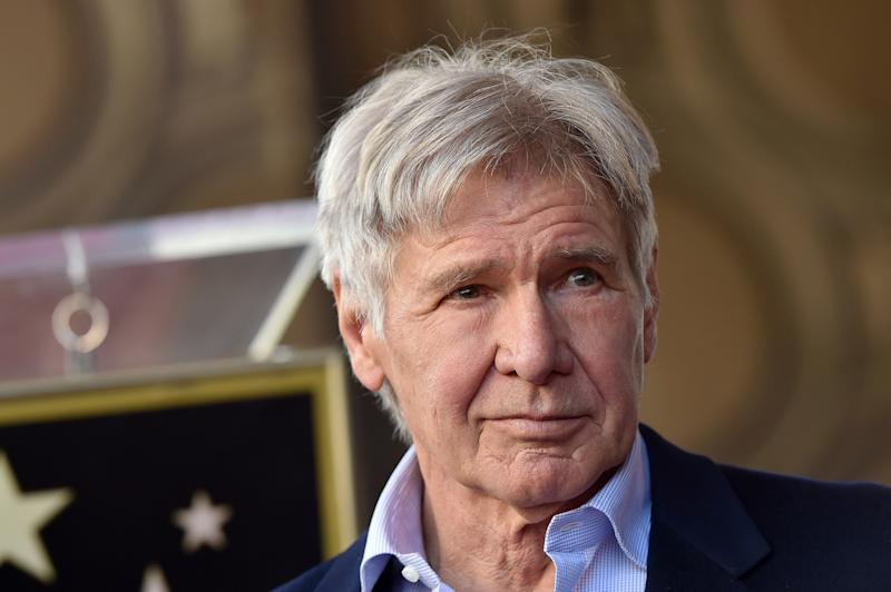 Harrison Ford says the 'future of humanity is at stake'
