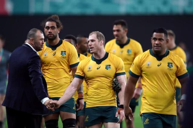 FILE PHOTO: Rugby World Cup 2019 - Pool D - Australia v Fiji