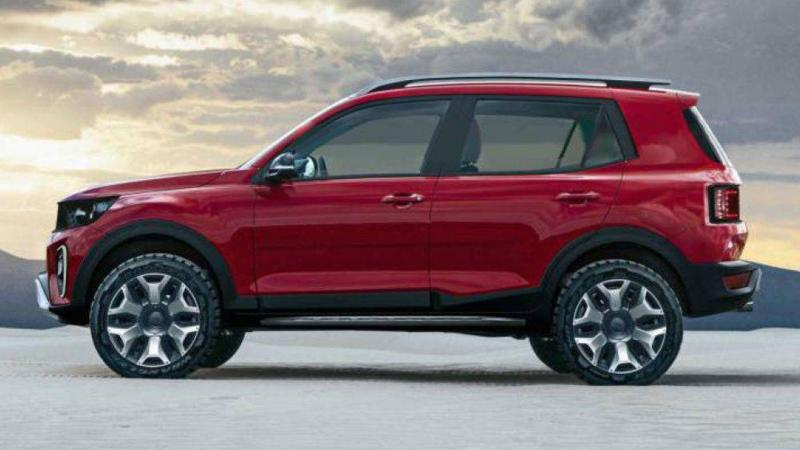 rendering ford baby bronco