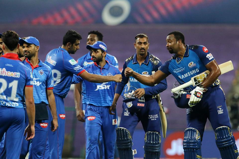 Mumbai defeated Delhi Capitals by 5 wickets in match 27 of IPL 2020.