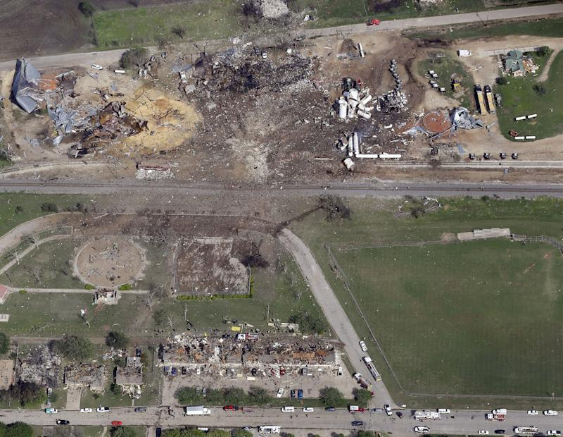 FEMA denies aid for Texas fertilizer plant blast