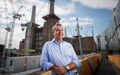 Rob Ticknell, the chief executive of the Battersea Power Station Development Company - Credit:  Geoff Pugh for the Telegraph