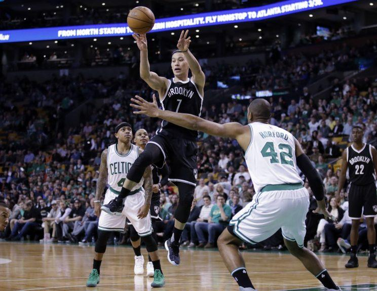 Jeremy Lin was productive when healthy for the Nets. (AP)