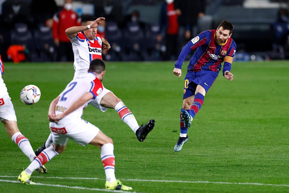 Barca still rely on Messi's magicGetty Images