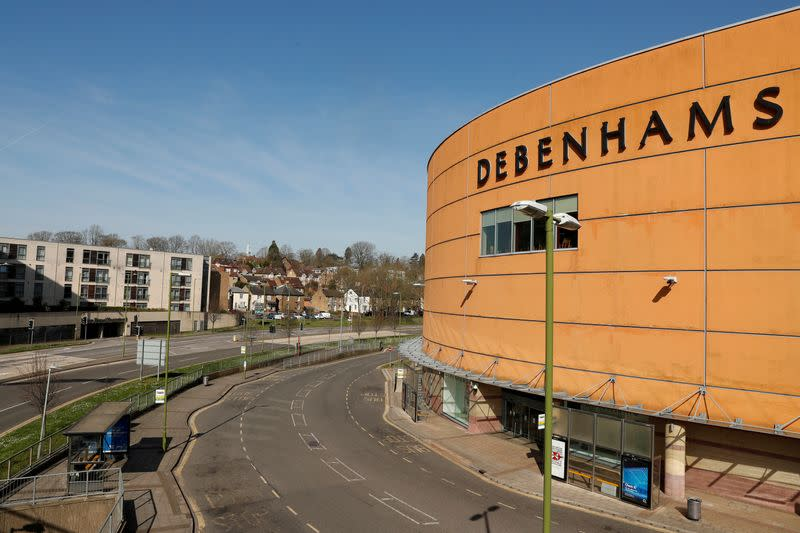 UK department store chain Debenhams to pull out of Ireland - RTE