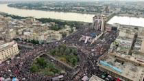 Baghdad's Tahrir Square has become the epicentre of Iraq's protest movement