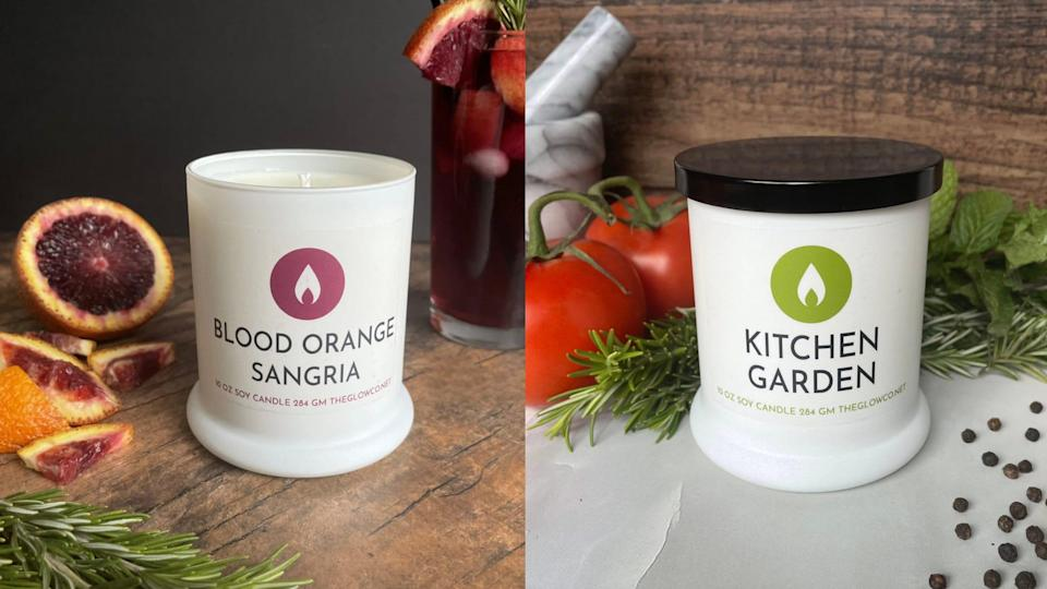 All candles from The Glow Co. are shipped in biodegradable or reusable materials.
