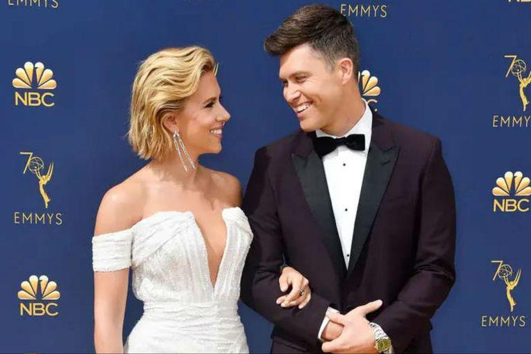 Scarlett Johansson and Colin Jost got married over the weekend