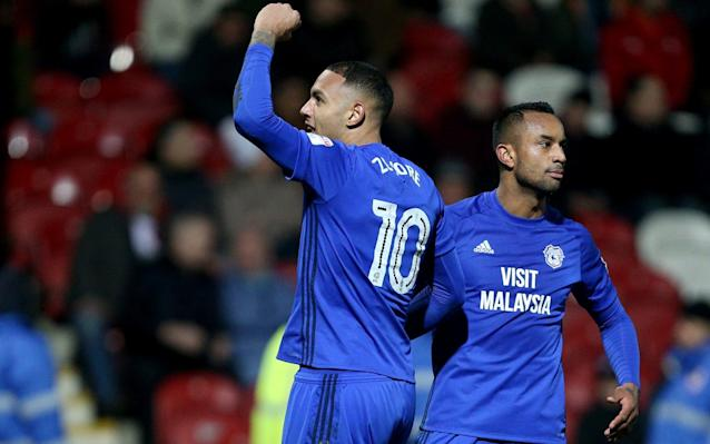 Brentford 1 Cardiff City 3: Neil Warnock's men bounce back from a goal down to extend lead over third-place Aston Villa