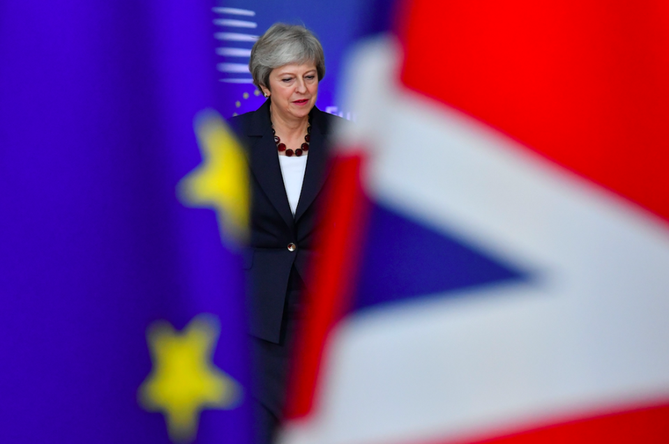 <em>Mrs May still has the tricky issue of Brexit to sort out (Getty)</em>