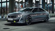 <p>Peugeot has a famous performance pedigree via its GTi division, so it's saying something to announce that this new 508 Sport Engineered will be the most powerful road car in its history.</p><p>A 355hp plug-in hybrid with an electric motor on both axles, it can reach 0-62mph in 5.2 seconds with a limited top speed of 155mph.</p><p>The already good-looking 508 is given a little more attitude on the looks front too, via a grey and green colour combo, plus some neat styling tweaks. That the bespoke paint shade is being called Kryptonite should give you an idea of Peugeot's ambition for this launch, which is available in fastback and estate.</p><p>Throw in 20 inch alloys and a tech-laden interior, and we're looking forward to getting behind the wheel of a car that could kickstart something for this famous French marque.</p>
