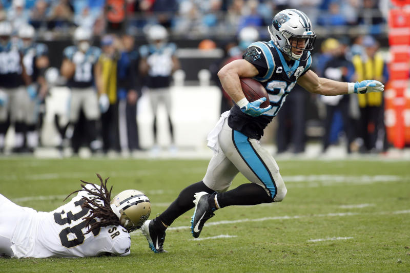 Saints March All Over Panthers 42-10