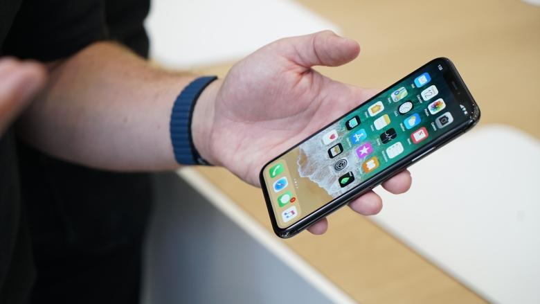 Apple stock rebounds after news of possible iPhone X supply cuts