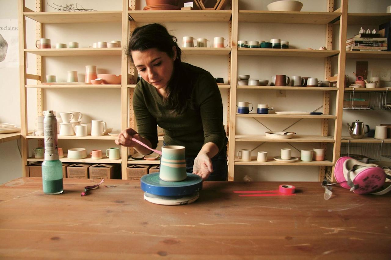 """<p><strong></strong><strong>Who:</strong> Brit McDaniel, ceramic artist</p><p><strong>What:</strong> Paper & Clay</p><p><strong>Where:</strong> Memphis, Tennessee</p><p>""""Creative work has been both complicated and glorified by digital media. On one hand, we have this incredible network of peers and customers that has never before been possible, but on the other hand it's become increasingly easy to copy or borrow too closely from other people's work. I firmly believe that artists need to steal ideas, techniques, etc. to grow and improve, but I think the trouble comes when creative professionals are simply copying work instead of stealing inspiration. If I see an idea that I'm drawn to, I try to either make it my own or make it better. If I can't do either of those things, I throw it out.""""</p><p>""""I do subscribe to the idea of a collective unconscious (which I believe is stronger than ever thanks to social media and the internet), and sometimes two or more people can come to a similar idea organically. When this happens it's a good test of your confidence in your own work, and it can often help show you areas that need improvement…. When it comes to staying fresh, I sort of turn the tables a bit. If I start to see a lot of work on Pinterest or Etsy that's similar to something I've made, I feel like that's an indication that it's time to push forward and evolve my work.""""</p>"""