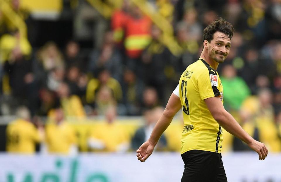 Mats Hummels will be playing his final game before becoming the third Borussia Dortmund star to join Bayern in the last three years, after Mario Goetze and Robert Lewandowski (AFP Photo/Patrik Stollarz)