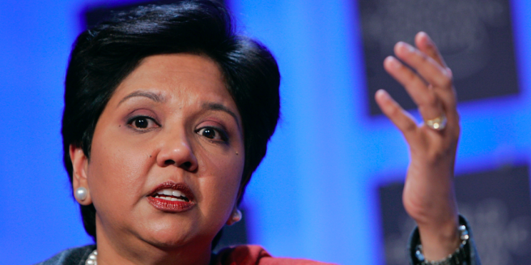 Indra Nooyi, Pepsi CEO (Reuters/ Stefan Wermuth)