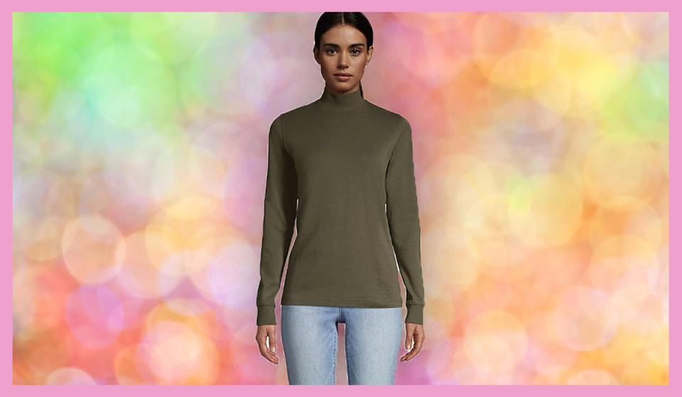 A Land's End turtleneck for $13? Happy Black Friday! (Photo: Amazon)